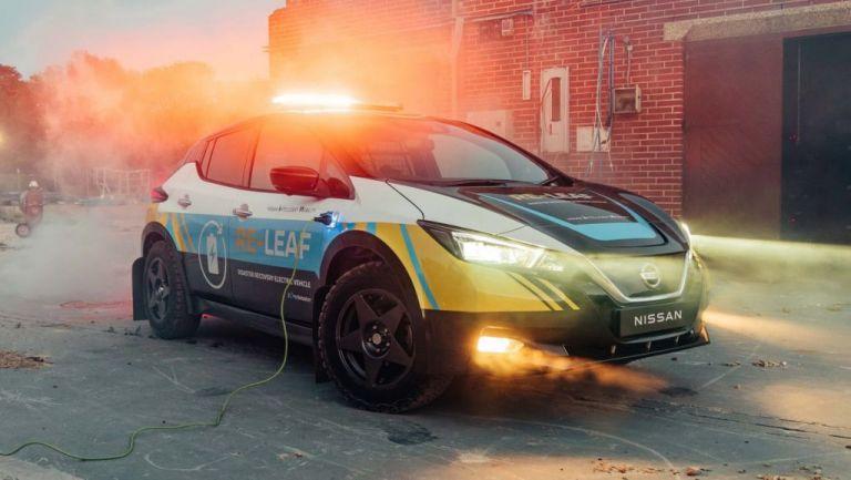 Nissan Re-Leaf: Power bank εκτάκτων αναγκών σε τέσσερις τροχούς | tovima.gr