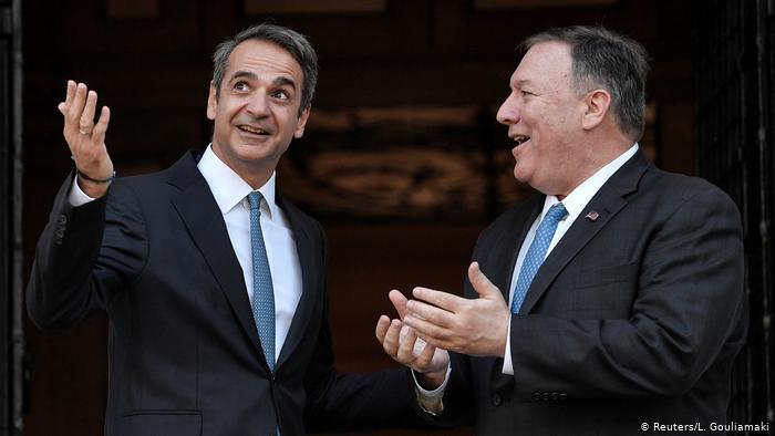 Γερμανικός Τύπος: «Ο Πομπέο στηρίζει την Ελλάδα» | tovima.gr