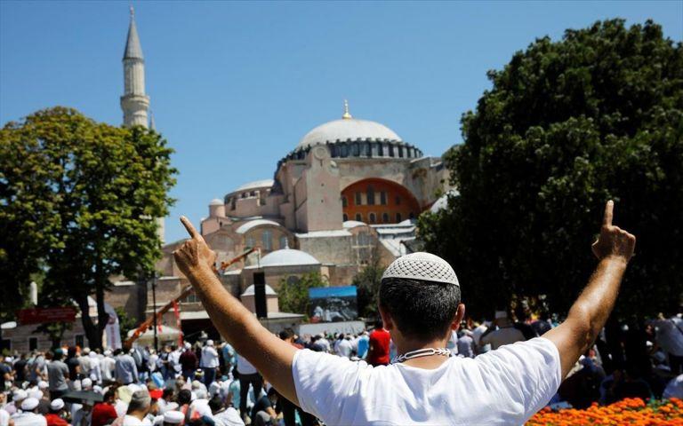 Eλπιδοφόρος σε ΟΗΕ: Να καταστεί υπόλογη η Τουρκία για την μετατροπή της Αγίας Σοφίας σε τζαμί | tovima.gr
