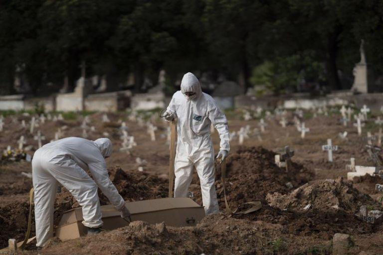 Βραζιλία : Ξεπέρασαν τις 145.000 οι νεκροί από τον κοροναϊό | tovima.gr