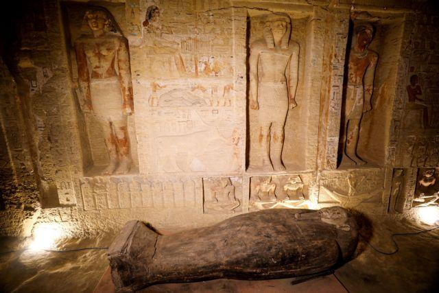 Σημαντική ανακάλυψη στην Αίγυπτο: Στο φως 59 σαρκοφάγοι στη Νεκρόπολη της Σακκάρα | tovima.gr