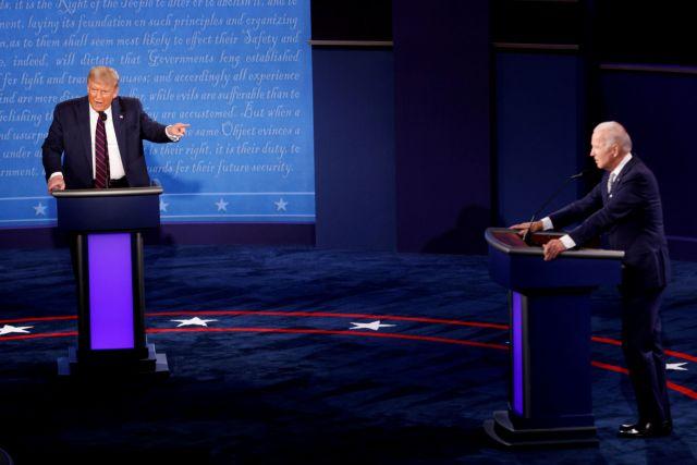 Προεδρικές ΗΠΑ: Περαιτέρω πτώση Τραμπ μετά την νοσηλεία του | tovima.gr