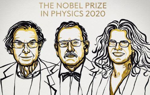 Νόμπελ Φυσικής 2020 : Τρεις επιστήμονες έριξαν φως στις μαύρες τρύπες | tovima.gr