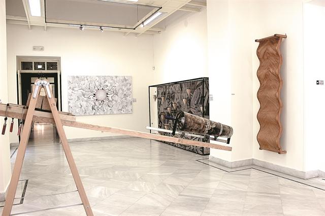Μια σπουδαία εικαστική έκθεση στη Δημοτική Πινακοθήκη Πειραιά | tovima.gr