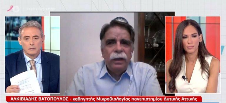 «Καμπανάκι» Βατόπουλου στο MEGA για κορωνοϊό : Η κατάσταση είναι εξαιρετικά ρευστή | tovima.gr