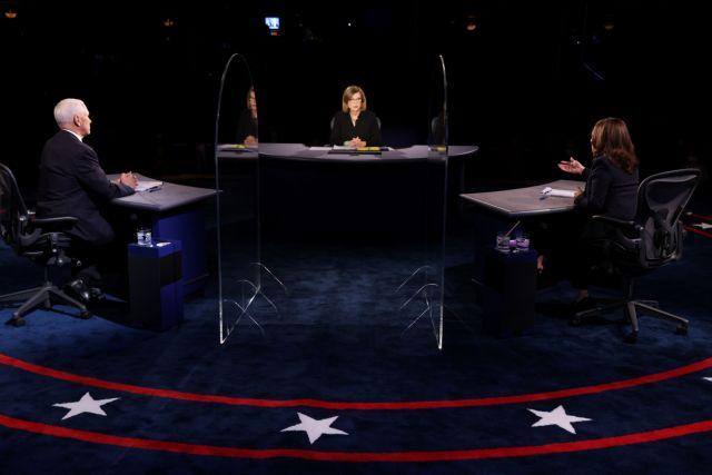 LIVE : Το debate μεταξύ Μάικ Πενς και Κεμάλα Χάρις | tovima.gr