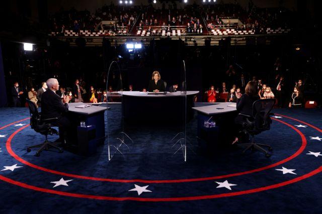 ΗΠΑ – Debate αντιπροέδρων : Επίθεση Πενς σε Καμάλα Χάρις επειδή κριτίκαρε τους χειρισμούς του Τραμπ   tovima.gr