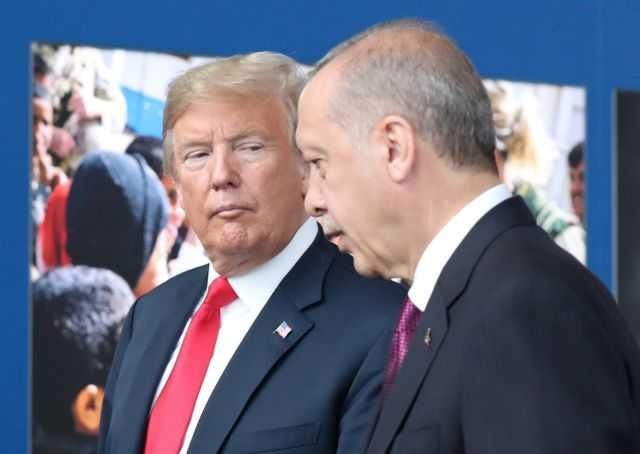 Καταπέλτης Τραμπ κατά Ερντογάν: Υπονομεύει τη μάχη κατά ISIS   tovima.gr