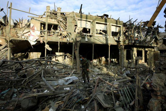 Αζερμπαϊτζάν: βομβαρδισμοί στην Γκάντζα – «νεκρή» η εκεχειρία | tovima.gr