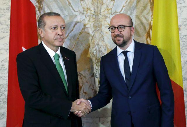 Ερντογάν σε Μισέλ: Η Ελλάδα προκαλεί – Περιμένουμε διεθνή διάσκεψη για αν. Μεσόγειο | tovima.gr