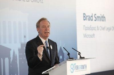 Μπραντ Σμιθ στο «Βήμα» : «Πρέπει να προωθήσουμε τις αναλλοίωτες ελληνικές και ευρωπαϊκές αξίες» | tovima.gr