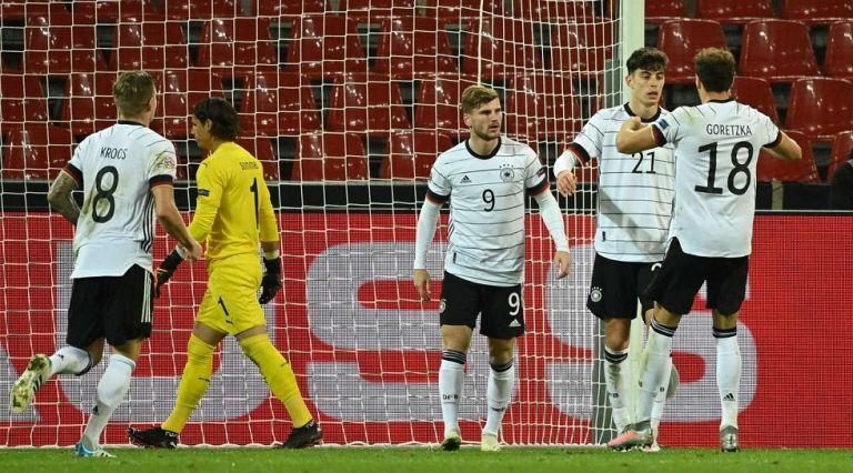 Nations League : Σόκαρε την Ισπανία η Ουκρανία- Τρελό ματς στη Γερμανία | tovima.gr