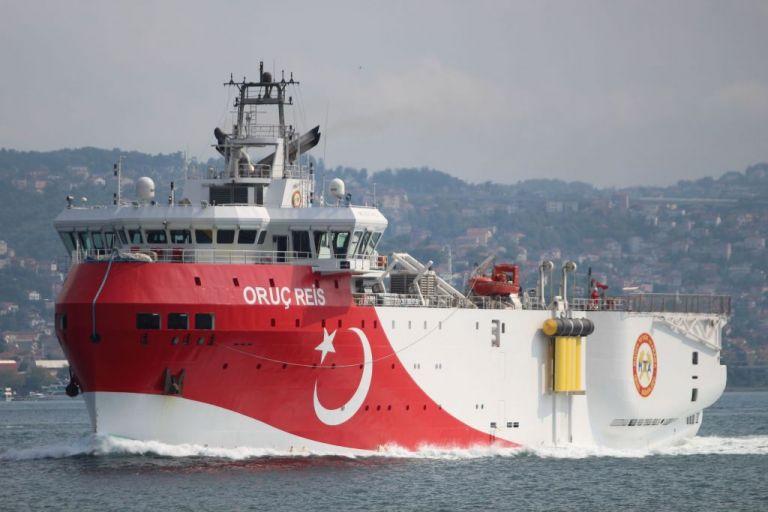 Oruc Reis : Εξέπεμψε σήμα το τουρκικό πλοίο – Δείτε πού βρίσκεται | tovima.gr