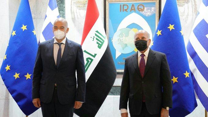 Στο Ιράκ ο Νίκος Δένδιας | tovima.gr