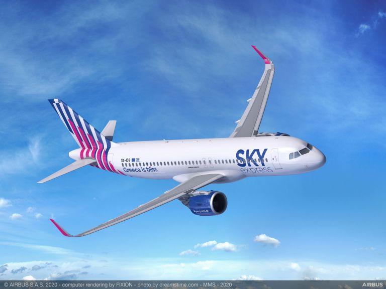 Με 6 A320neo η SKY express στην οικογένεια της Airbus   tovima.gr