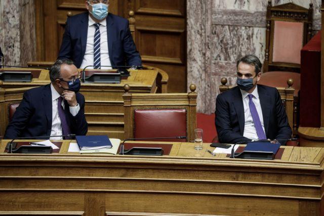 Πρόταση μομφής : Live η ομιλία του Κυριάκου Μητσοτάκη στη Βουλή   tovima.gr