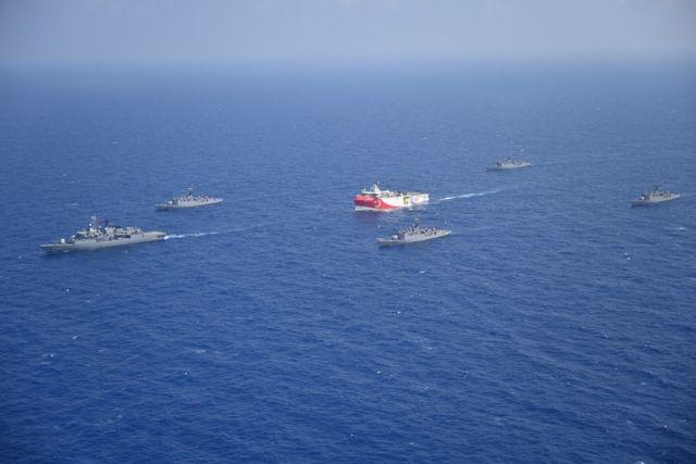 Oruc Reis : Απομακρύνεται το τουρκικό πλοίο – Πλέει με κατεύθυνση προς την Αίγυπτο   tovima.gr