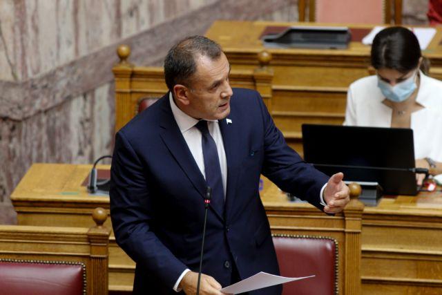 Παναγιωτόπουλος : Ο μηχανισμός του ΝΑΤΟ δεν σχετίζεται με εθνικούς κανόνες εμπλοκής | tovima.gr