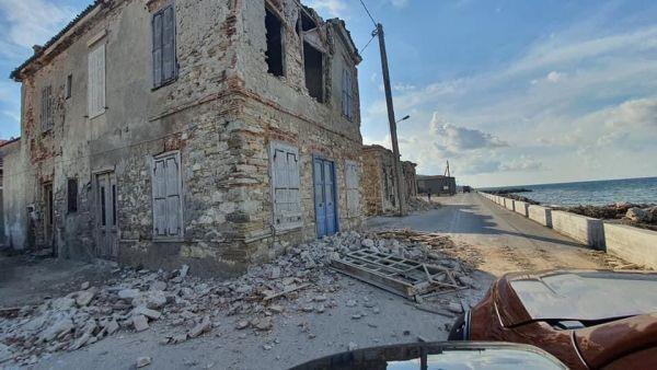 Σεισμός : Βγήκε η θάλασσα στη στεριά – Μεγάλες καταστροφές στη Σάμο | tovima.gr