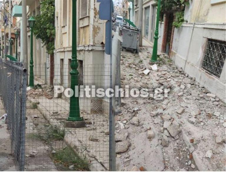 Σεισμός – Σάμος : Καταστράφηκαν κτίρια και στη Χίο | tovima.gr