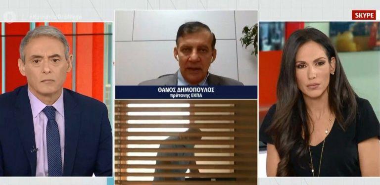 Δημόπουλος στο MEGA: Αν χρειαστεί θα μεταφέρονται ασθενείς από πόλη σε πόλη | tovima.gr