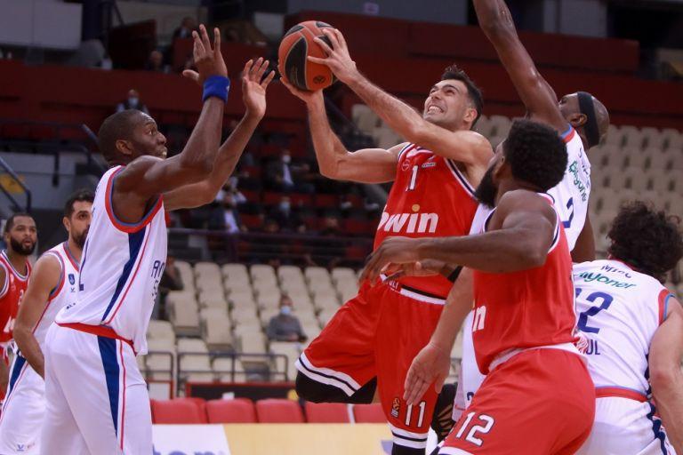 Ολυμπιακός : Αρνητικά όλα τα τεστ κορωνοϊού στην ομάδα μπάσκετ | tovima.gr