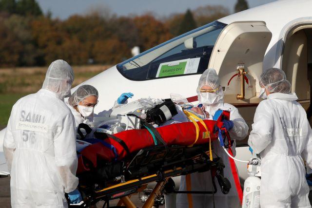 Γαλλία : Διακομιδές ασθενών με κορωνοϊό στη Γερμανία τις επόμενες 10 μέρες   tovima.gr