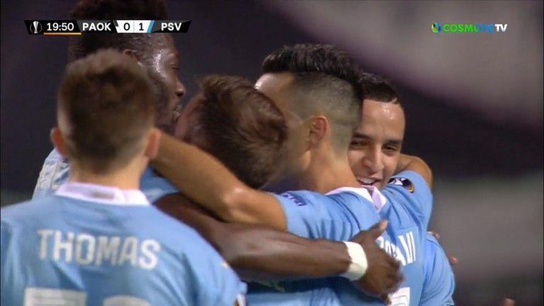 ΠΑΟΚ – Αϊντχόβεν: Ο Ζάχαβι με πέναλτι το 1-0 για τους Ολλανδούς | tovima.gr