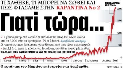 Στα «ΝΕΑ» της Παρασκευής: Γιατί τώρα… | tovima.gr