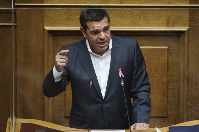 Τσίπρας για lockdown : Ζητά συμβούλιο πολιτικών αρχηγών | tovima.gr