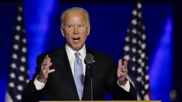 Biden declares national unity top priority in 'a time to heal' victory speech | tovima.gr