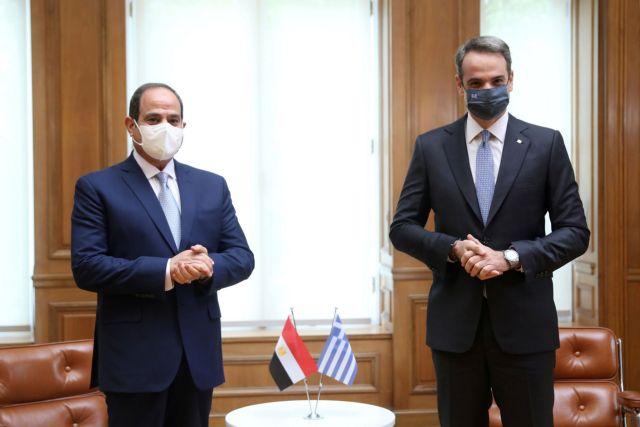 LIVE : Δηλώσεις Κυριάκου Μητσοτάκη – Αμπντέλ Φατάχ αλ-Σίσι | tovima.gr