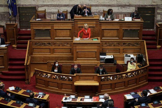 Γεννηματά: Εμμονή ΝΔ – ΣΥΡΙΖΑ σε αχρείαστες κοκορομαχίες | tovima.gr