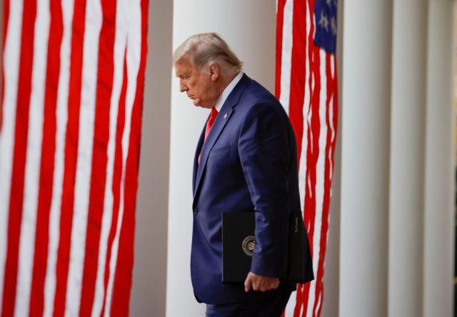 Τραμπ : «Ο χρόνος θα δείξει ποιος θα αναλάβει την προεδρία» | tovima.gr