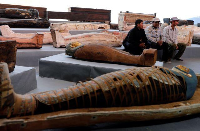Αίγυπτος : Aνακαλύφθηκαν 100 άθικτες σαρκοφάγοι στην Νεκρόπολη της Σακκάρα | tovima.gr