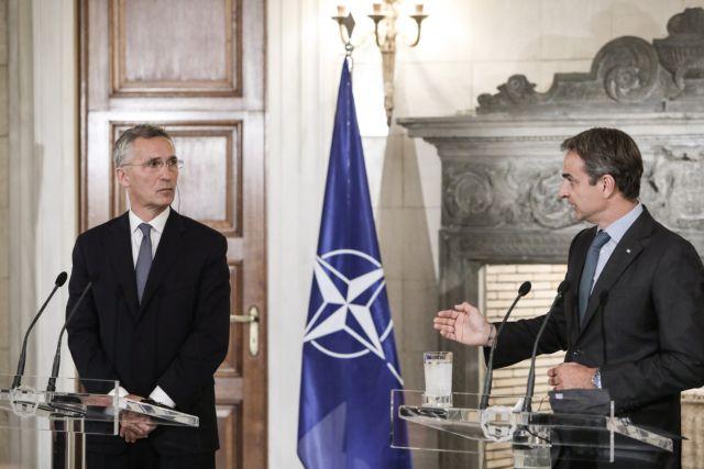 Μητσοτάκης : Οι προκλήσεις της Τουρκίας εναντίον της Ελλάδας υπονομεύουν το ΝΑΤΟ | tovima.gr
