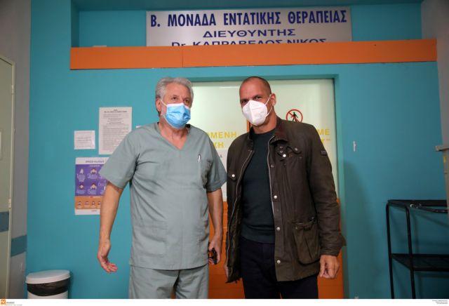 Βαρουφάκης  : Η κυβέρνηση ν' ακούσει τους γιατρούς στις ΜΕΘ   tovima.gr