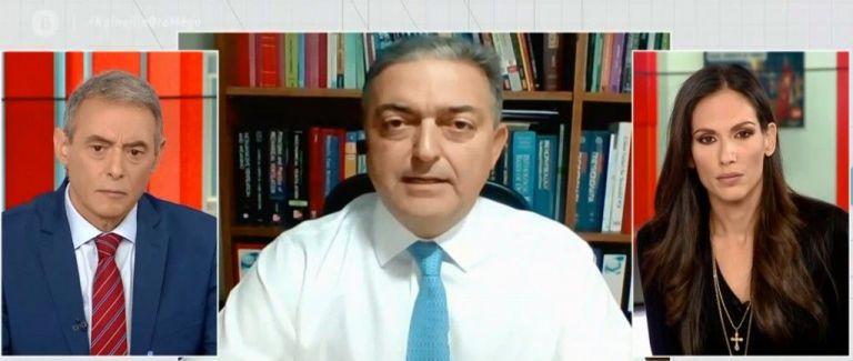 Βασιλακόπουλος στο MEGA : Nα κλείσουν τα σύνορα, να περιοριστεί η μετακίνηση στη Β. Ελλάδα | tovima.gr
