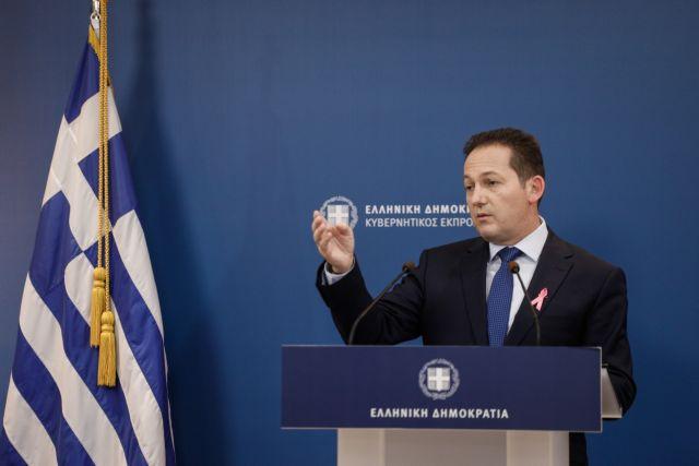 Ζωντανά η ενημέρωση των δημοσιογράφων από τον Στέλιο Πέτσα | tovima.gr