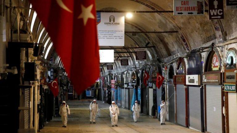 Τουρκία : Πάνω από 5.000 κρούσματα και ρεκόρ θανάτων το τελευταίο 24ωρο   tovima.gr
