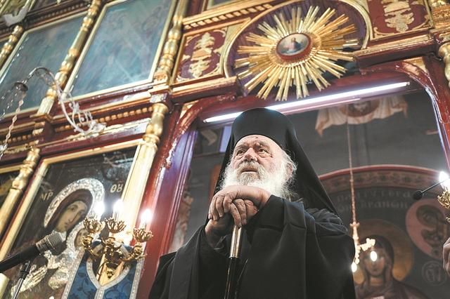 Ιερώνυμος:  Σταθερή η κατάσταση της υγείας του – καλύτερα ο Αλβανίας   tovima.gr