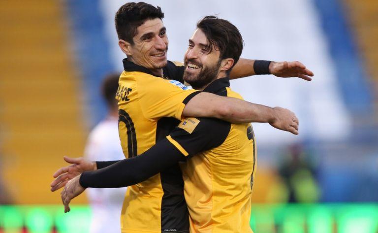 «Περίπατος» της ΑΕΚ με τεσσάρα (4-1) | tovima.gr