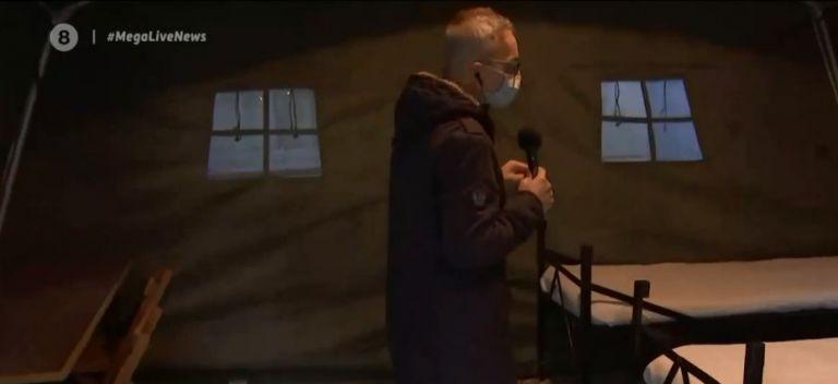 Τρομακτική πίεση στα νοσοκομεία – Το MEGA στις στρατιωτικές σκηνές που στήθηκαν στο Βόλο | tovima.gr