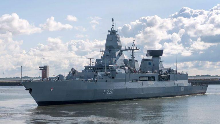 «Μπλόκο» από την Άγκυρα σε γερμανική φρεγάτα που επιχείρησε να ελένξει ύποπτο για μεταφορά όπλων τουρκικό πλοίο | tovima.gr