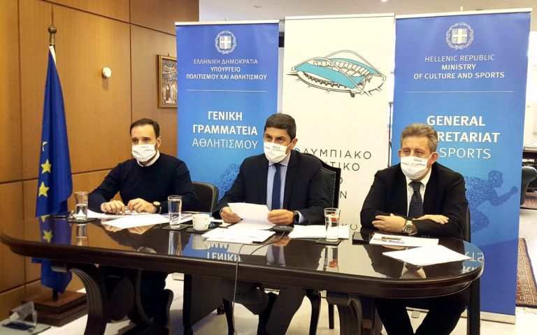 Αυγενάκης: «Το ΟΑΚΑ ξαναγίνεται στολίδι» | tovima.gr