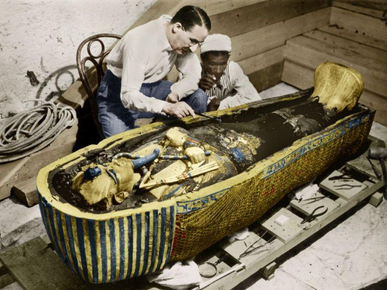 Τουταγχαμών : Η συναρπαστική ανακάλυψη του τάφου του νεαρού Φαραώ | tovima.gr