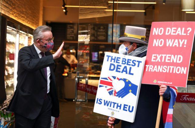 Brexit :  Εξαντλείται ο χρόνος για την επίτευξη εμπορικής συμφωνίας | tovima.gr