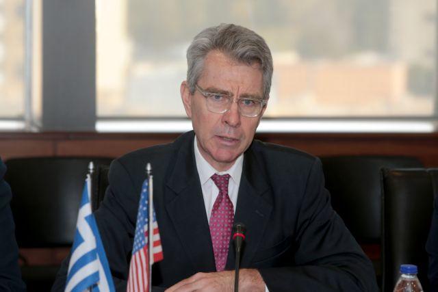 Πάιατ : Στο υψηλότερο επίπεδο όλων των εποχών η αμυντική συνεργασία ΗΠΑ-Ελλάδας | tovima.gr