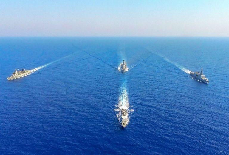 ΓΕΕΘΑ : Μήνυμα σταθερότητας οι ασκήσεις Ελλάδας-Ιταλίας-Γαλλίας-Κύπρου στη Μεσόγειο | tovima.gr