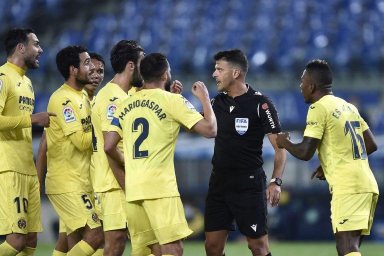 Μανθάνο : Τα λάθη και το πέναλτι που εξόργισαν τους παίκτες της Βιγιαρεάλ | tovima.gr